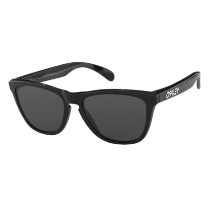 Oakley Frogskins 24-306 Polished Black/Grey Sonnenbrille
