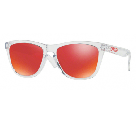 Oakley Frogskins Polished Clear OO9013-A5