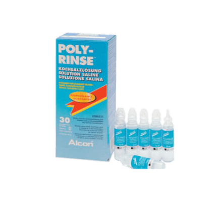 POLY-RINSE Saline Solution 1x (30x15ml) Ampules