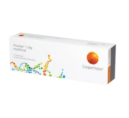 Proclear 1 day multifocal - 30 Tageslinsen