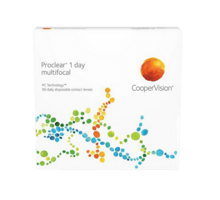 Proclear 1 day multifocal - 90 Daily Lenses