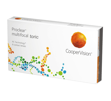 Proclear Multifocal Toric XR - 6 Monthly Lenses