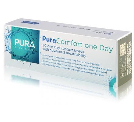 Pura Comfort One Day - 30 Tageslinsen
