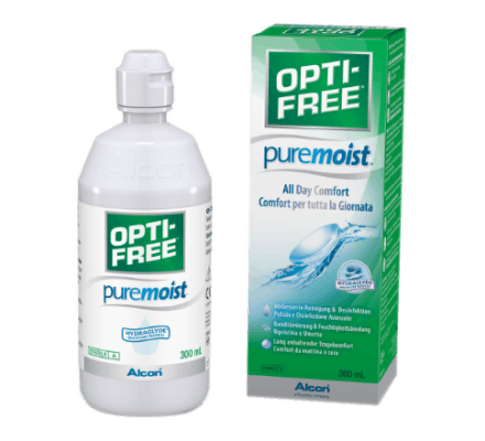 OptiFree Puremoist ALCON 300ml Opti-Free & Case