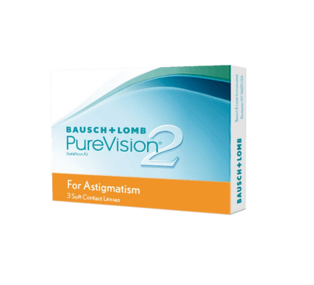Pure Vision 2 HD for Astigmatism - 3 Lenti mensili