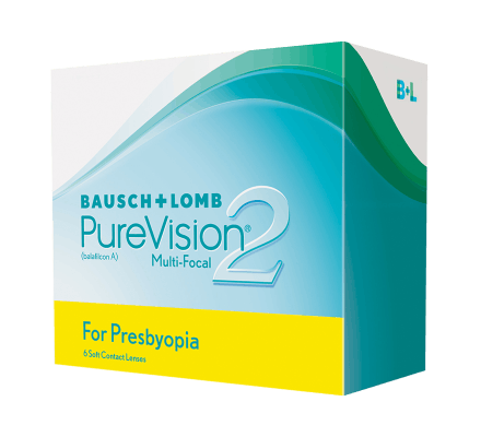 Pure Vision 2 for Presbyopia - 6 lenti multifocali