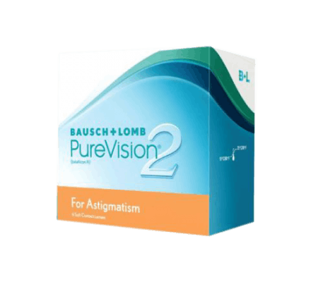 Pure Vision 2 HD for Astigmatism - 6 Monthly Lenses