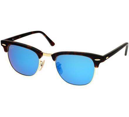 Ray-Ban Clubmaster RB3016 - 114517 Grey Mirror Blue 49-21