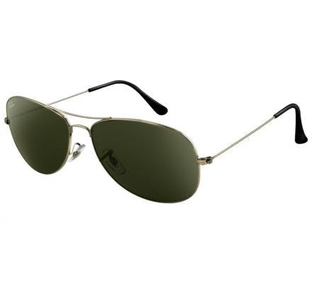 Ray-Ban Cockpit RB3362 - 004 Gunmetal/Green 59-14