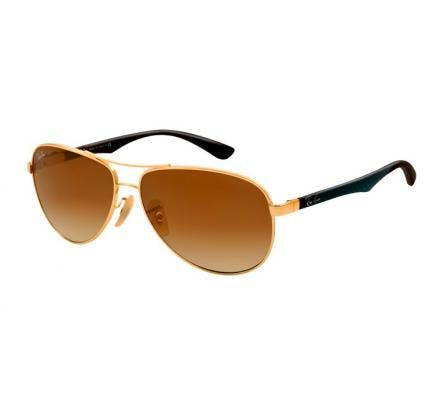 Ray-Ban RB8313 - 001-51 Arista / Gradient Brown 61-13