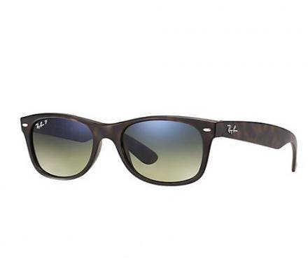 Ray-Ban New Wayfarer RB2132 - 894/76 Polarized 55-18