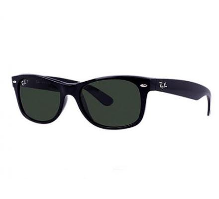 Ray-Ban New Wayfarer RB2132 - 901/58 Polarized 52-18