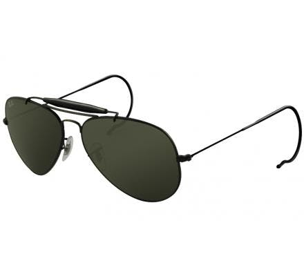 Ray-Ban Outdoorsman 58-14 RB3030 L9500 Black