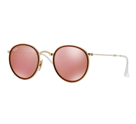 Ray-Ban RB3517 - 001/Z2 Brown Mirror Red 51/22