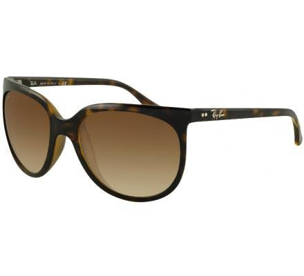 Ray-Ban Cats 1000 57-19 RB4126 710/51 Shiny Avana
