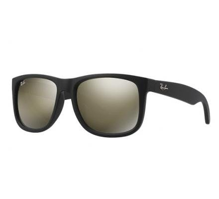 Ray-Ban Justin RB4165 - 622/5A Brown Mirror Gold 51/16