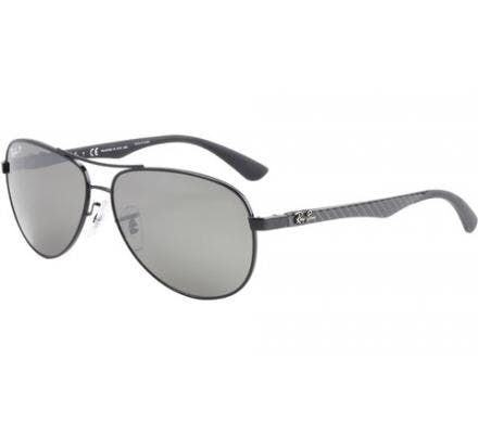 Ray-Ban RB8313 - 002/K7 Grey Mirror Black 61-13