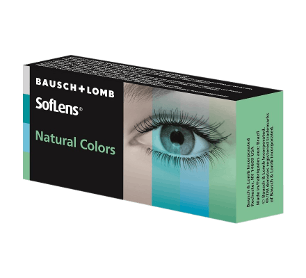 Soflens Natural Colour - 2 Lenses