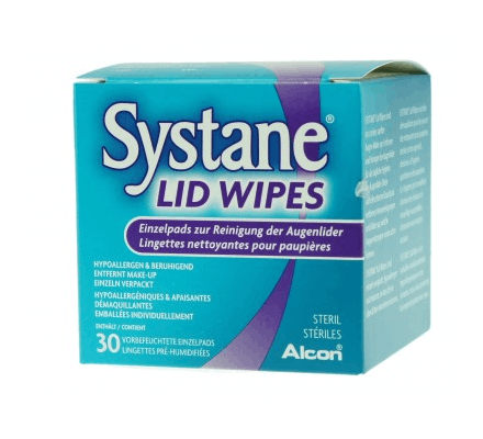 Systane Lid Wipes - 30 pieces