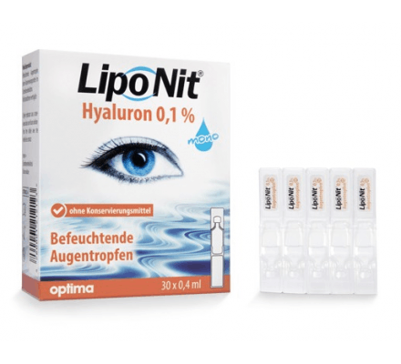 LipoNit eye drops 0.1% - 30x0.4ml