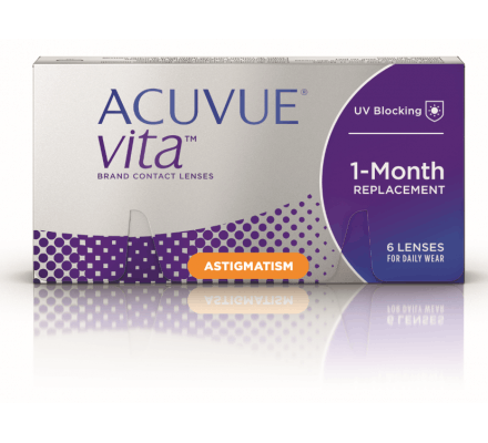 Acuvue Vita for Astigmatism - 6 Contact Lenses