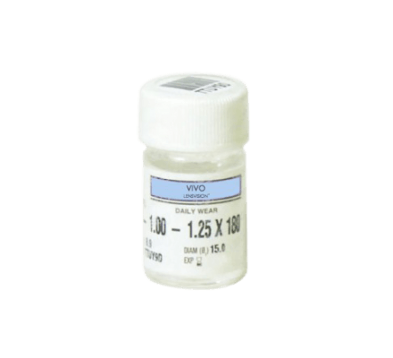LENSVISION MA UV - 1 rigid (hard) Contact Lens