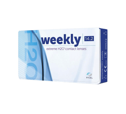 weekly H2O = icuity H2O - 12 contact lenses
