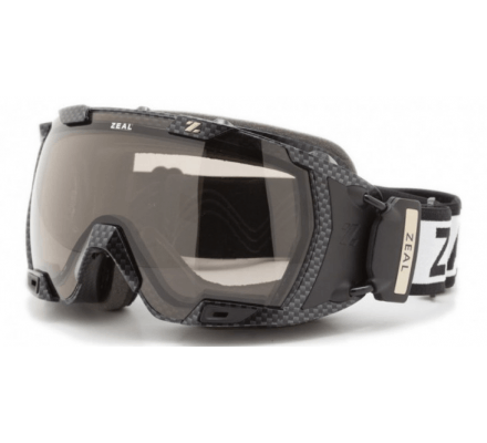 Zeal HD Z3 GPS Carbon Matte Black - Polarized Automatic Z3SPP