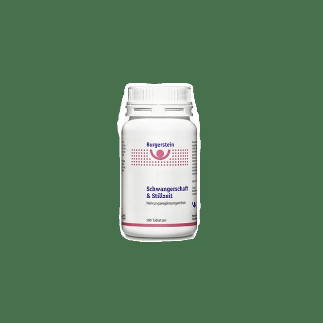 Burgerstein Schwangerschaft und Stillzeit 100 Tabletten