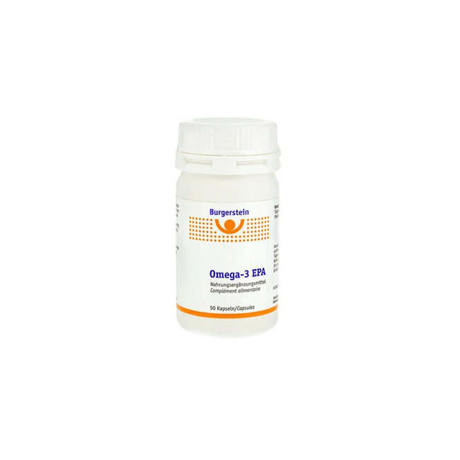 Burgerstein Omega-3 EPA Fettsäuren 50 Kapseln