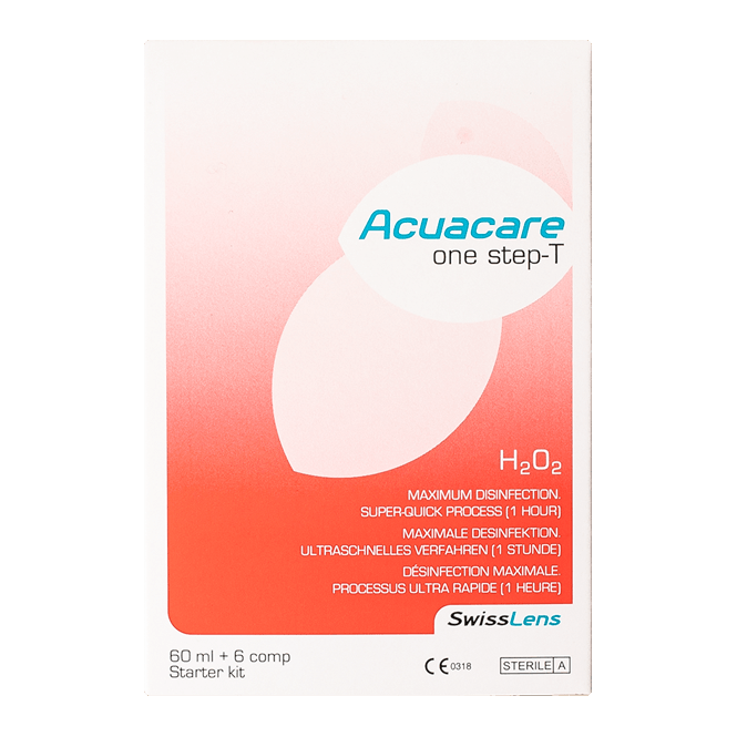 Acuacare One Step- T - 60ml & 6 Tabletten