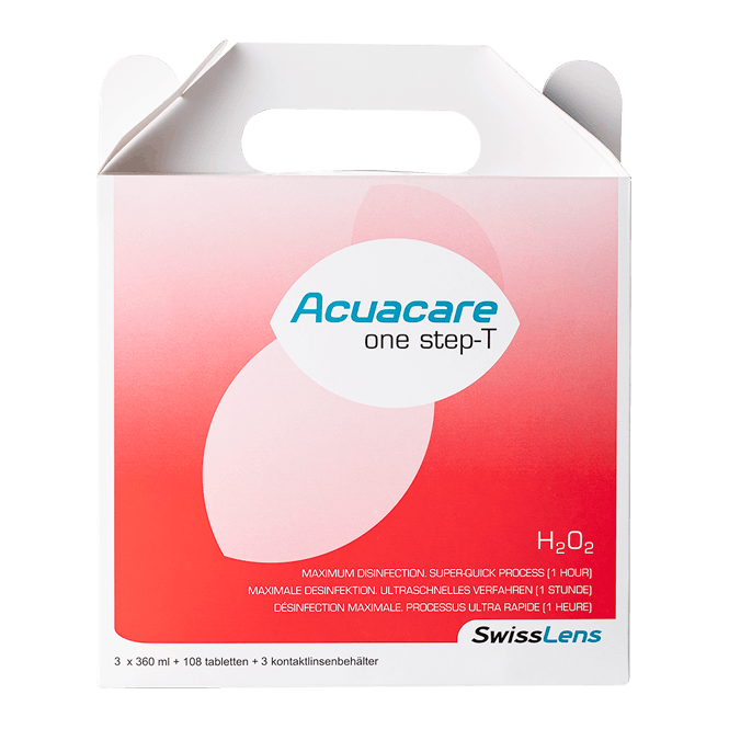 Acuacare One Step- T - 3x360ml & 108 Tabletten
