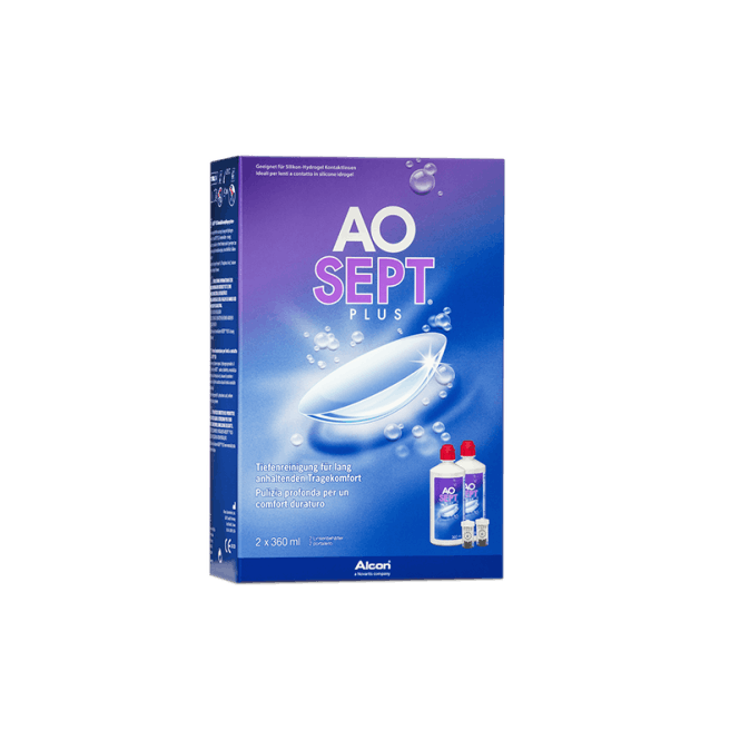 AO Sept Plus - 2 x 360ml inkl. Behälter