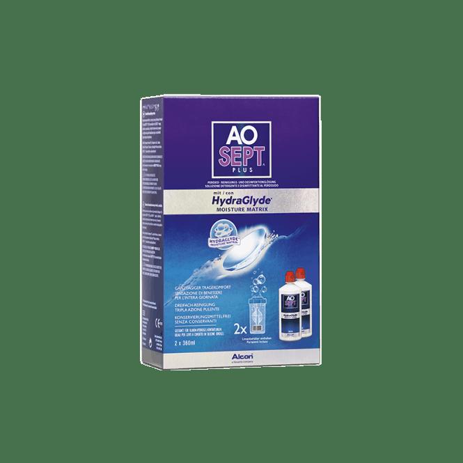AO Sept Plus HydraGlyde - 2 x 360ml