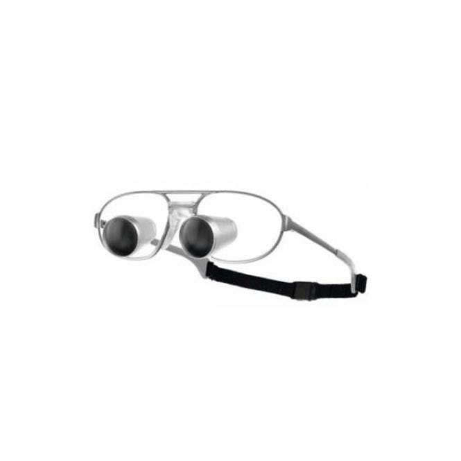 Carl Zeiss GTX 2.5x Lupebrille - inkl. mit Titan-Fassung, ohne LED