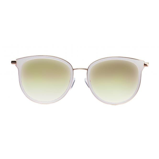 LENSVISION - #ClassyMonaco - creme weiss / gold