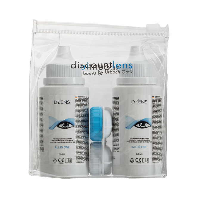 DLENS All in One - 2x60ml inkl. Behälter