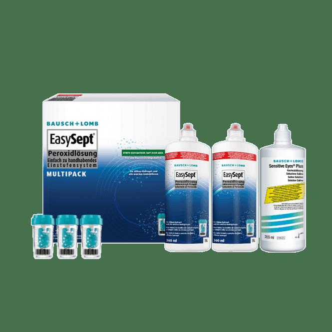 EasySept Multipack - 2 x 360ml + 1 x 355ml Saline