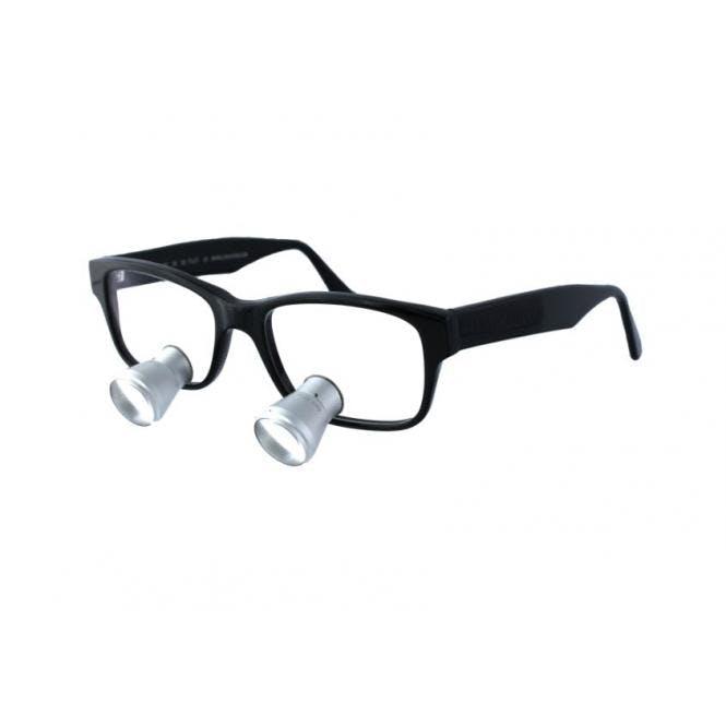 LENSVISION Zeiss Lupenbrille - 2.5x Schwarz