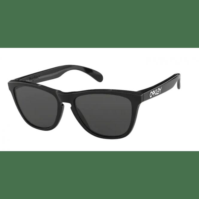 Oakley Frogskins 24-306 Polished Black/Grey Sonnenbrille