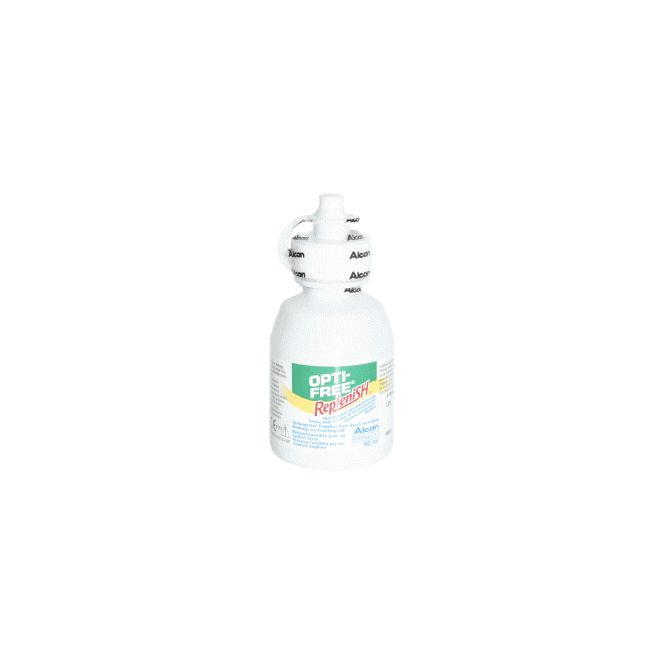 OptiFree RepleniSH ALCON 120ml & Behälter