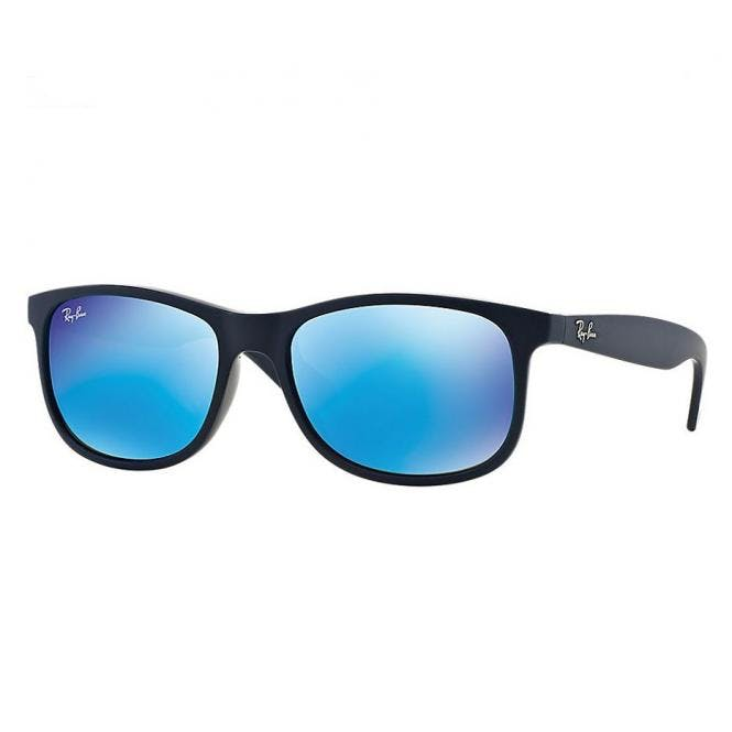 Ray-Ban RB4202 - 615355 Blue Mirror 55/17