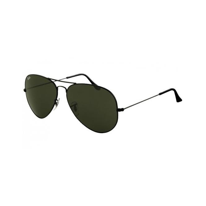0dff10e47b Sunglasses - Ray-Ban AVIATOR LARGE METAL II 62-14 RB3026 L2821 Black ...