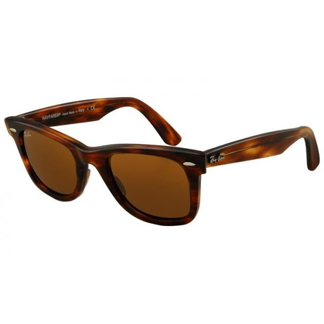 15b23572d6538 Sunglasses - Ray-Ban Original-Wayfarer RB2140 - 954 Brown 50-22 ...