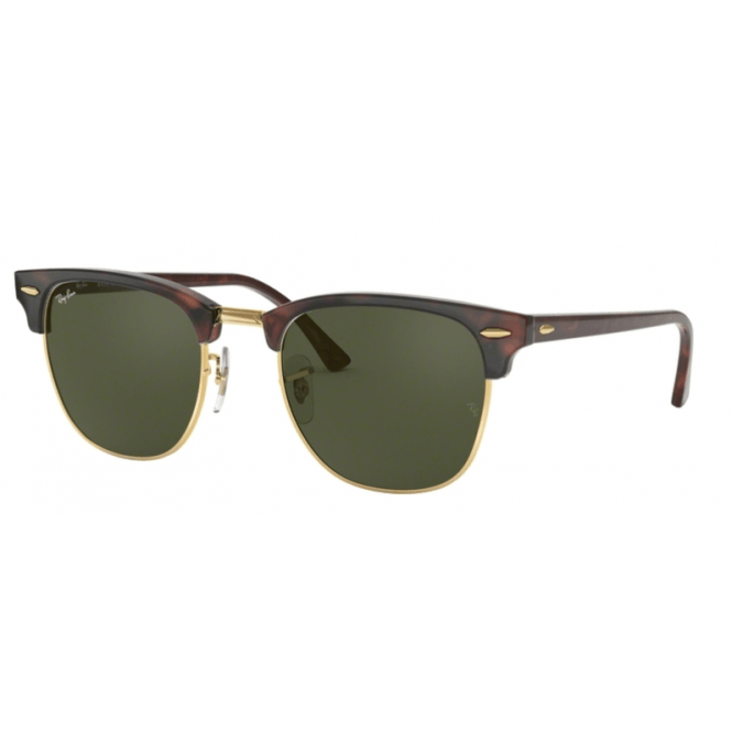 Ray-Ban Clubmaster RB3016 - W0366 Mock/Green 51-21