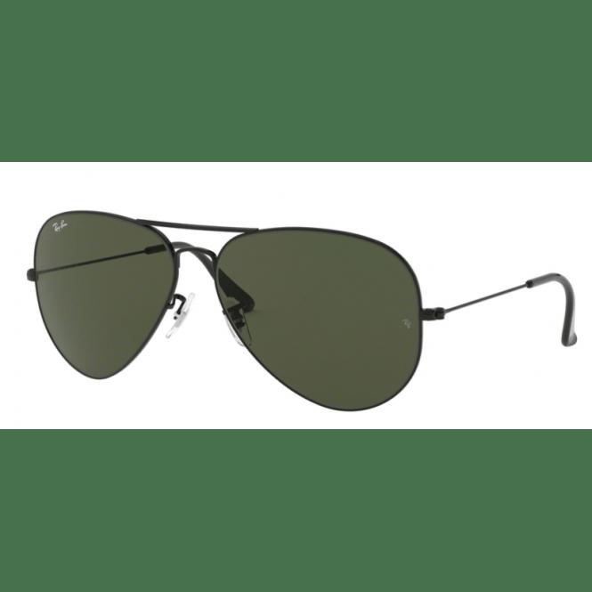 bb944d9ee6 Sunglasses - Ray-Ban AVIATOR LARGE METAL II 62-14 RB3026 L2821 Black ...