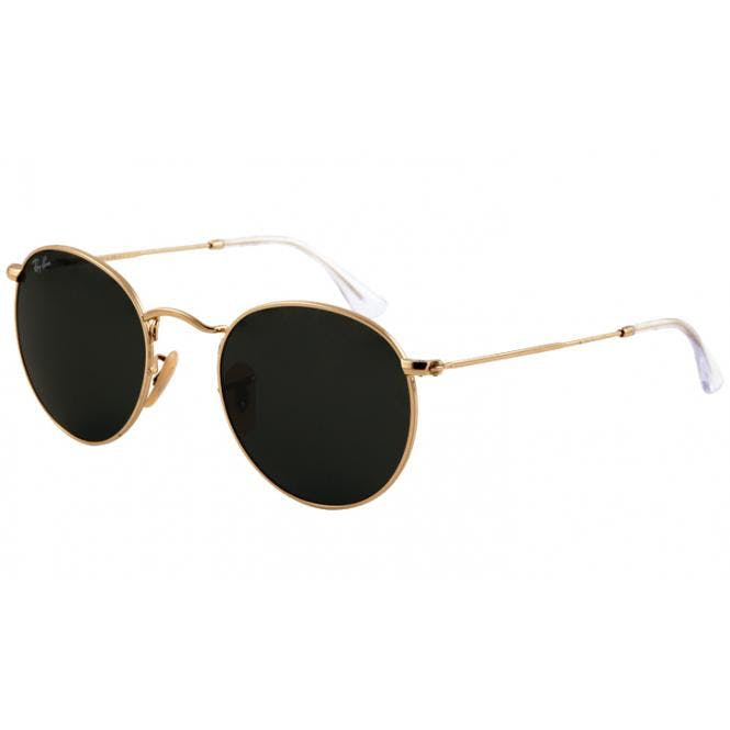 Ray-Ban ROUND METAL 47-21 RB3447 001 Arista