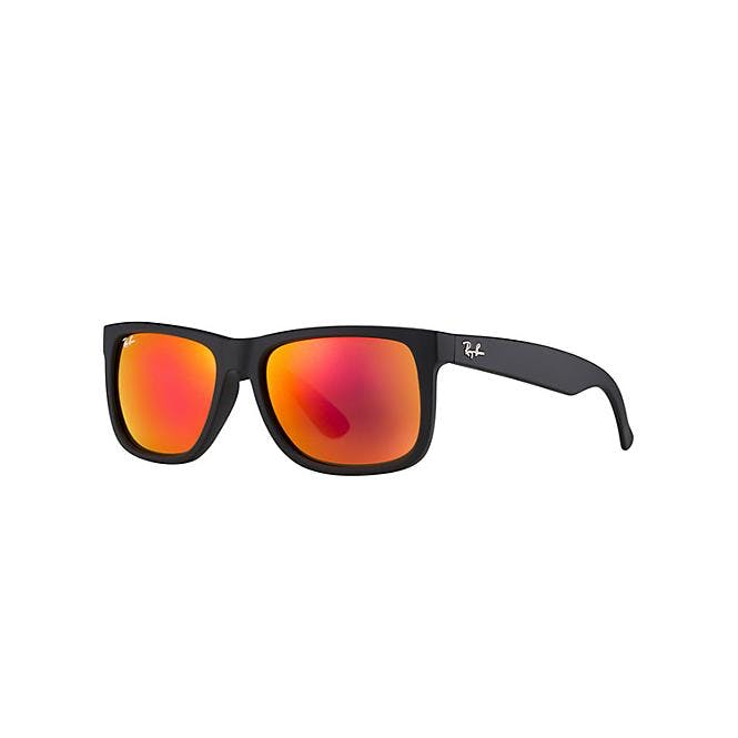 Ray-Ban Justin RB4165 - 622/6Q Yellow/Red Mirr Multilayer 51/16