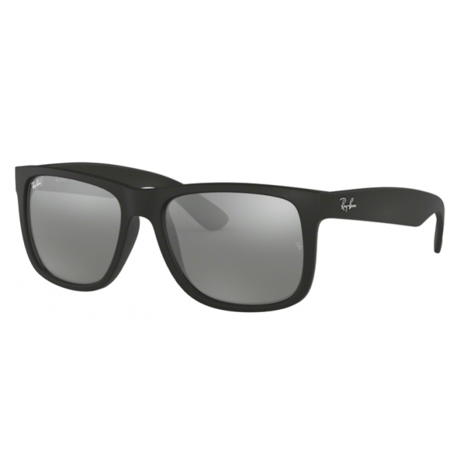 Ray-Ban Justin RB4165 - 622/6G Silver Mirror 54-16