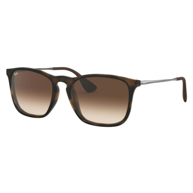 Ray-Ban Chris RB4187 - 856-13 Rubber Havana 54-18